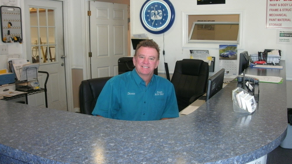Overland Mo Auto Body shop owner - Dennis Carroll